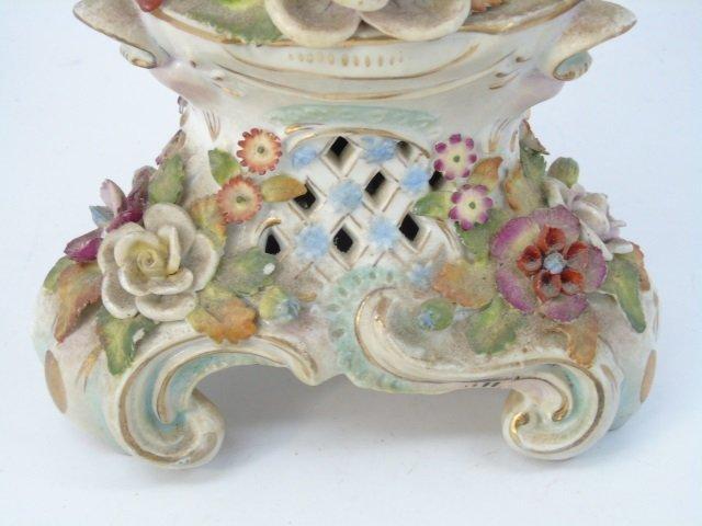 Vintage Italian Capodimonte Porcelain Vase - 2