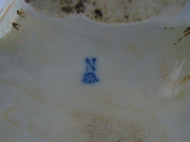 Vintage Italian Capodimonte Porcelain Vase - 6