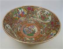 Large Vintage Chinese Porcelain Centerpiece Bowl
