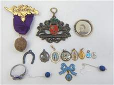 Assorted Antique  Vintage Jewelry Pieces
