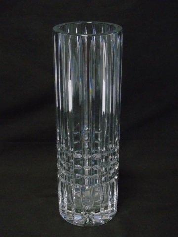 Ceskci Lead Crystal Vase