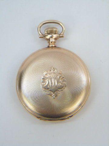Antique Frankfield & Co 14kt Gold Pocket Watch