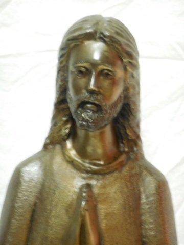 Bronze Statue of Jesus Christ Praying - 5
