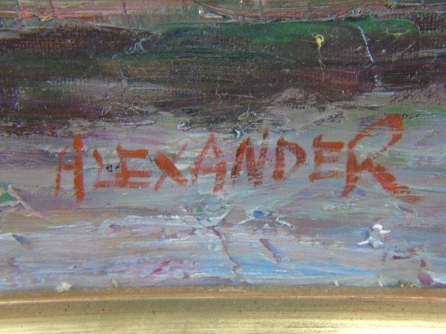 Alexander - Contemporary Painting of Parisian Cafe - 3