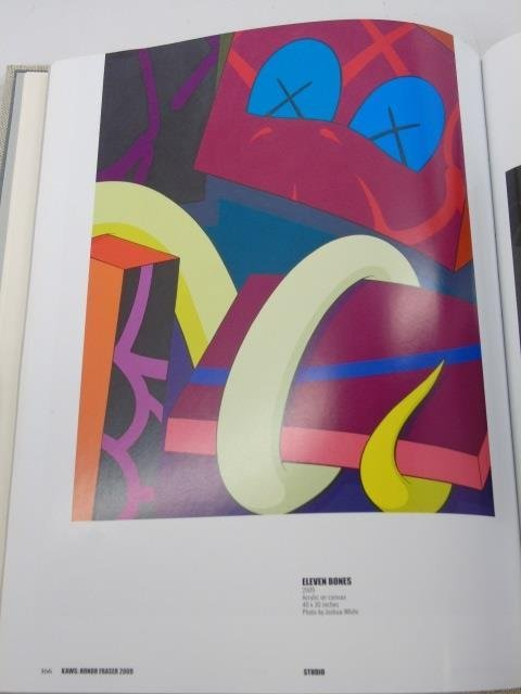 Brian Donnelly KAWS Signed Book - 3