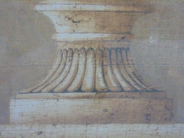 Contemporary Italian Neo Classical Print of Urn - 2