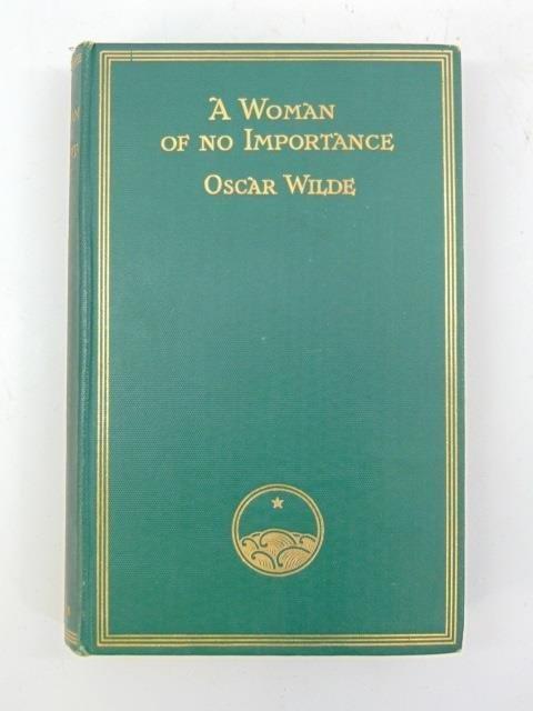 Oscar Wilde Antique Book A Woman of No Importance