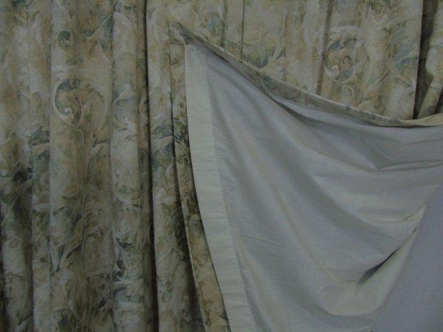 Contemporary Custom Made Designer Fabric Curtains - 2