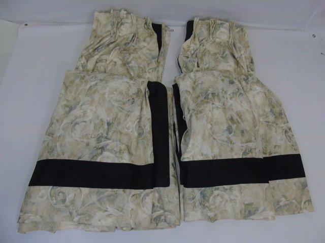 Contemporary Custom Made Designer Fabric Curtains - 3