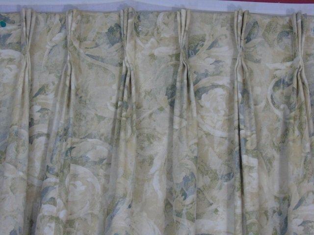 Contemporary Custom Made Designer Fabric Curtains - 4