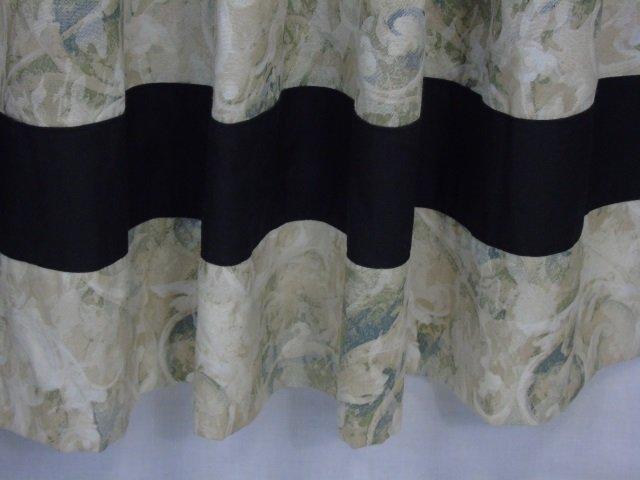 Contemporary Custom Made Designer Fabric Curtains - 5
