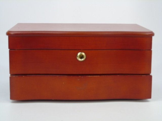 Contemporary Wooden Table Top Jewelry Box - 3