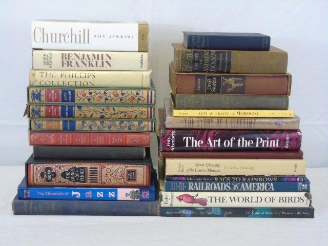 Lot  Assorted Art Books