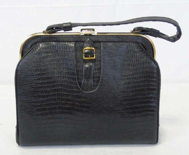 Vintage Black Handbag Purse