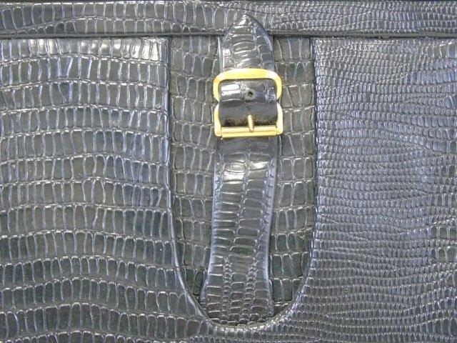 Vintage Black Handbag Purse - 3