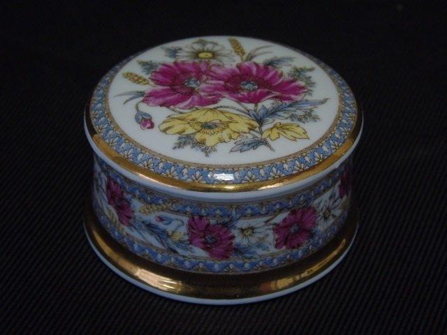 8 Table Items Spode Porcelain Bird Limoges Pot - 3