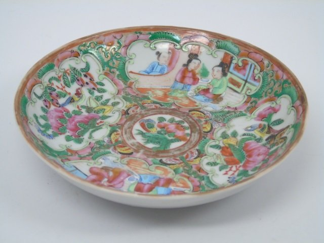 5 Wedgwood Items Chinese Rose Medallion Plate - 3