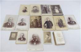 Large Collection of Antique Victorian Photographs