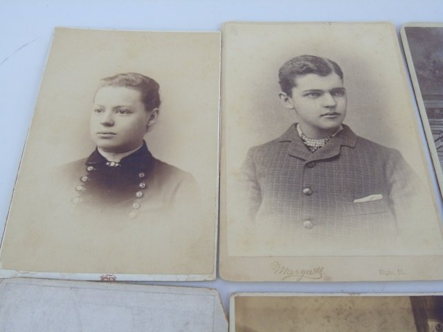 Large Collection of Antique Victorian Photographs - 3