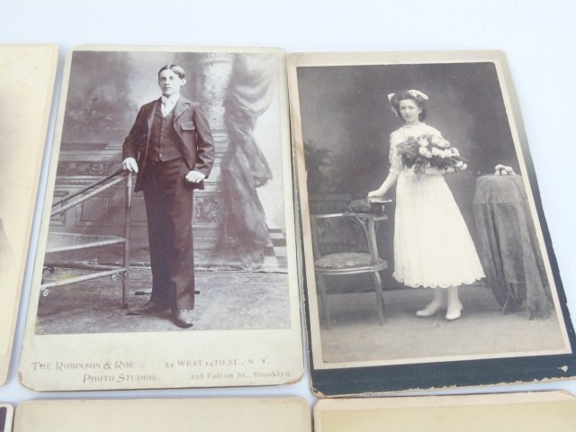 Large Collection of Antique Victorian Photographs - 4