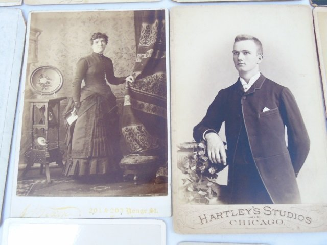 Large Collection of Antique Victorian Photographs - 5