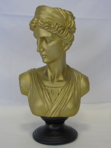 Cast Neo-Classical Style Bust of a Lady