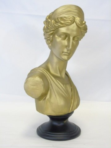 Cast Neo-Classical Style Bust of a Lady - 2