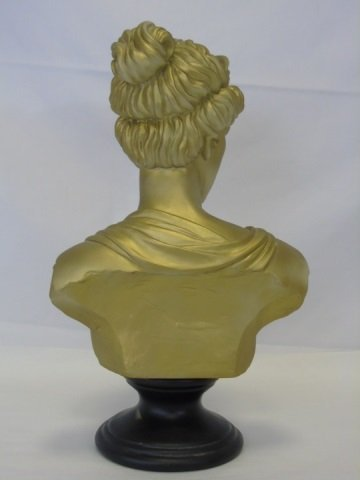 Cast Neo-Classical Style Bust of a Lady - 4