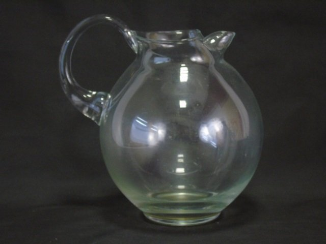 3 Vintage Depression Glass Pitchers - 3