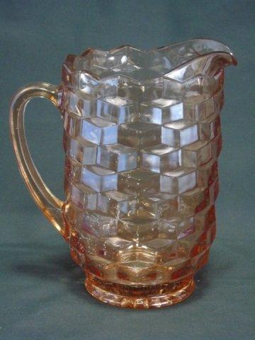 3 Vintage Depression Glass Pitchers - 4