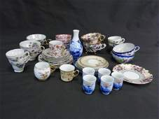 Collection of Antique  Vintage Cups  Saucers