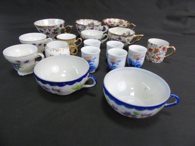 Collection of Antique & Vintage Cups & Saucers - 3