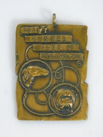 Vintage Kennel Club of Philadelphia Plaque