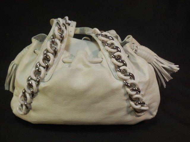 Michael Kors White Leather Handbag/Satchel - 2
