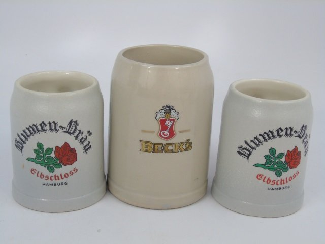 Collection of German Beer Steins, Mugs, Boot - 2