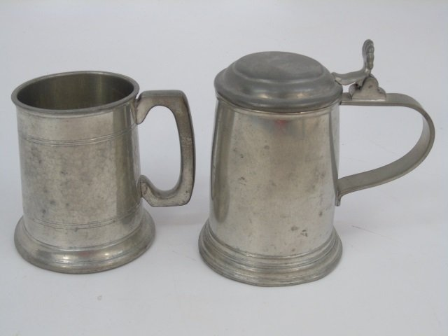 Collection of German Beer Steins, Mugs, Boot - 3