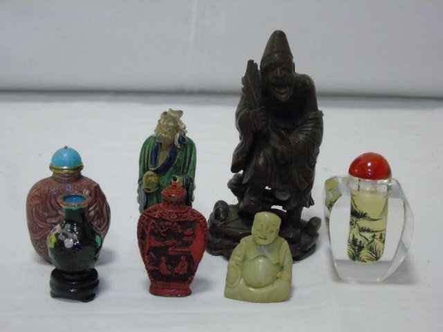 Lot of 7 Vintage Asian Assorted Items