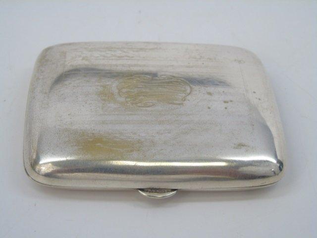 Antique German Silver Card or Cigarette Case