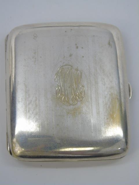 Antique German Silver Card or Cigarette Case - 2