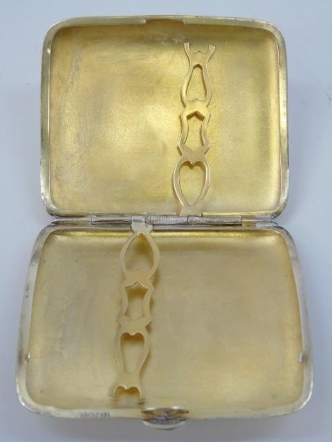 Antique German Silver Card or Cigarette Case - 3