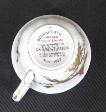 Antique Limoges Bernardaud Reine Elizabeth - 6