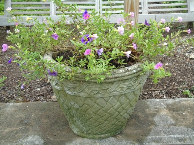 Group of Assorted Vintage Garden Planter Pots - 3