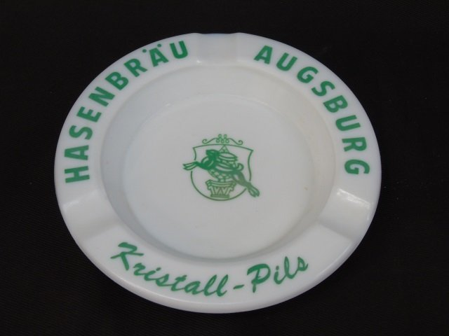 2 Vintage German Beer Themed Ash Trays - 2