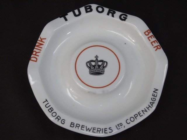 2 Vintage German Beer Themed Ash Trays - 3