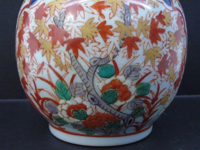 Antique Japanese Signed Imari Porcelain Vase - 3