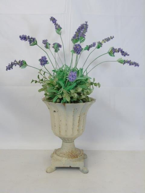 Two Contemporary Silk Floral Arrangements in Pots - 5