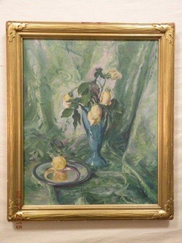 Olga Koch - Antique Austrian Still Life of Flowers