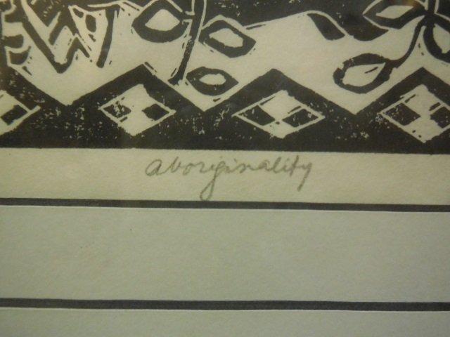 "Lois T. Lewis # 3/6 ""Aboringinality"" Signed - 3"