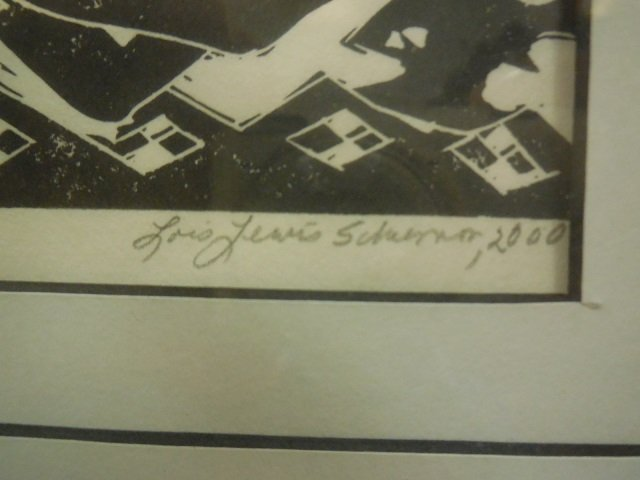 "Lois T. Lewis # 3/6 ""Aboringinality"" Signed - 4"