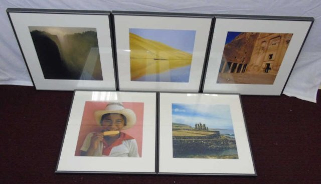 Lot of 5 Giancarlo Zuin Travel Photographs